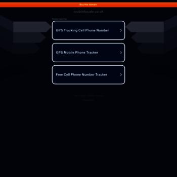 Mobilelocate.co.uk thumbnail