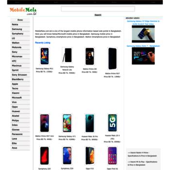 mobilemela com bd at WI  Mobile Phone Price in Bangladesh