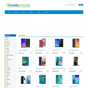 Mobileprice24.com thumbnail