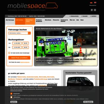 Mobilespace.de thumbnail