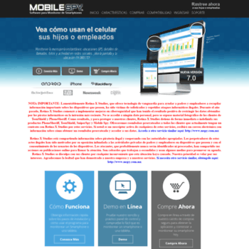 Mobilespy.com.mx thumbnail