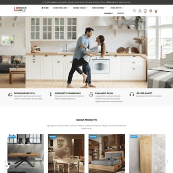 mobililapishoponline.com at WI. Home page - Mobili Lapi Shop ...