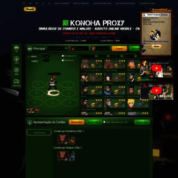 mobpt konohaproxy com br at WI  Konoha Proxy - Simulador de