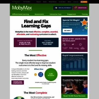 Mobymaxcom At Wi Mobymax Fix Learning Gaps