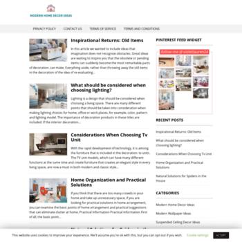 Modern-home-decor.site thumbnail