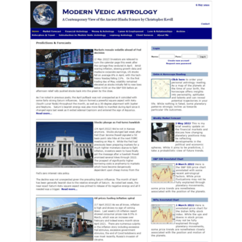 modernvedicastrology com at WI  Predictions & Forecasts