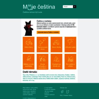 Mojecestina.cz thumbnail