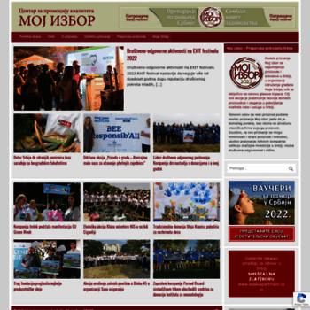 Mojizbor.rs thumbnail