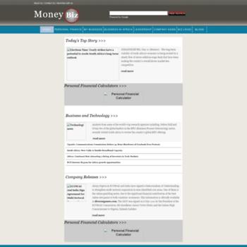 Moneybiz.co.za thumbnail