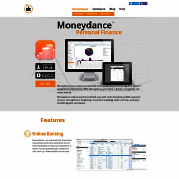 moneydance com at WI  Moneydance - Personal Finance Manager