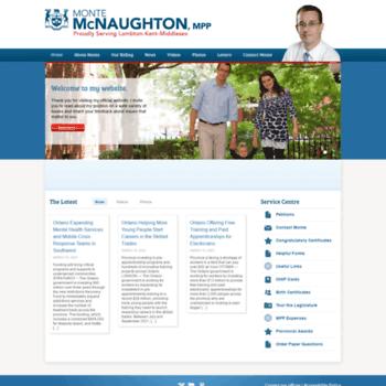 Montemcnaughtonmpp.ca thumbnail