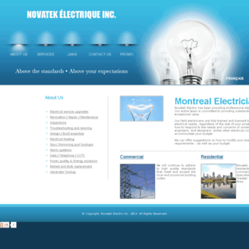 Montreal-maitre-electricien.ca thumbnail