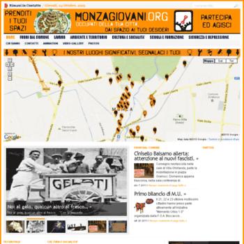 Monzagiovani.org thumbnail