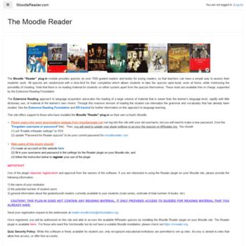 Moodlereader.net thumbnail