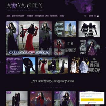 Moonmaiden-gothic-clothing.co.uk thumbnail