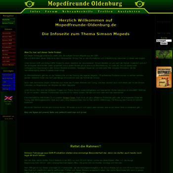 Mopedfreunde-oldenburg.de thumbnail