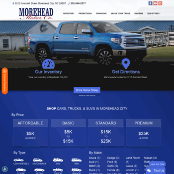 Moreheadmotorcompany.com thumbnail