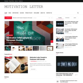 Motivation-letter.net thumbnail