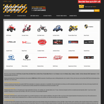 motopartscenter com at WI  ATV Parts, Scooter Parts, Dirt