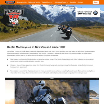 Motorcycle-hire.co.nz thumbnail