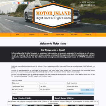 Motorisland.co.uk thumbnail