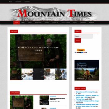 Mountaintimes.info thumbnail