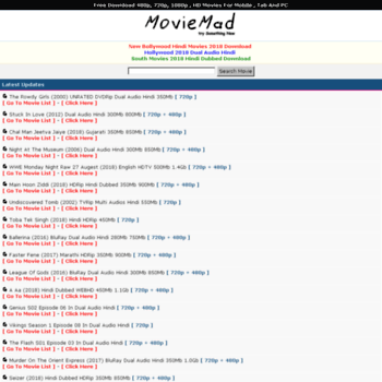 moviemad biz at WI  MovieMad - Bollywood HD Movies, Hollywood Movies