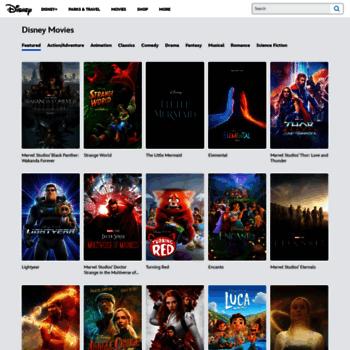 Movies.disney.com thumbnail