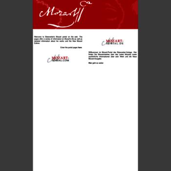 Mozart-portal.de thumbnail