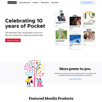 Mozilla.org thumbnail