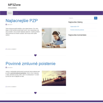 Mp3zone.sk thumbnail