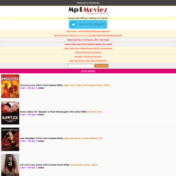 mp4moviez us at WI  Mp4moviez | Bollywood, Hollywood Hindi