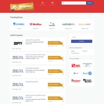 mrbargainer com at WI  Coupon Code, Promo Code & Coupons