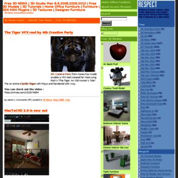 mrcad com at WI  Free 3D NEWS | 3D Studio Max 8,9,2008,2009