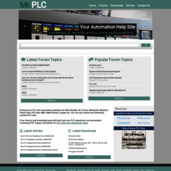mrplc com at WI  Mr PLC   Allen Bradley, GE, Omron & Mitsubishi PLC