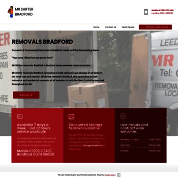 cf6a3904b87288 mrshifterbradford.co.uk at WI. Removals Bradford