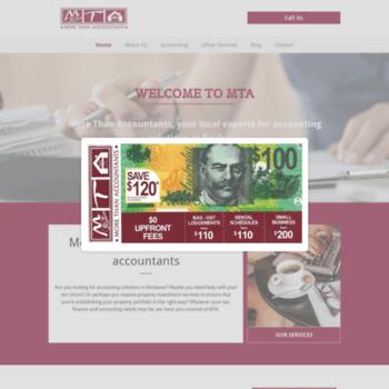 Mtatax.com.au thumbnail