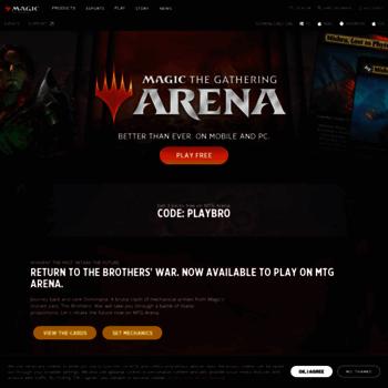 mtgarena com at WI  Magic: The Gathering Arena | MAGIC: THE GATHERING