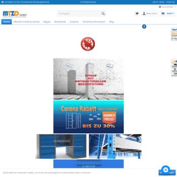Веб сайт mtzd.de
