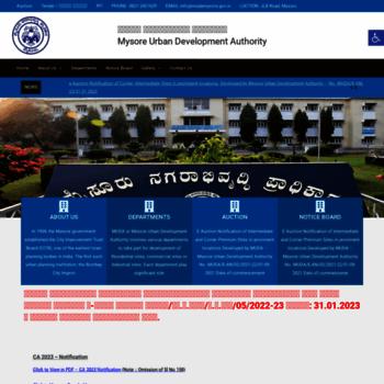 Mudamysore.gov.in thumbnail