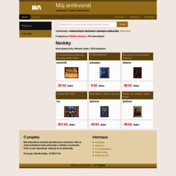 Muj-antikvariat.online thumbnail