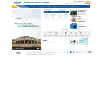 Multaninternationalairport.com.pk thumbnail