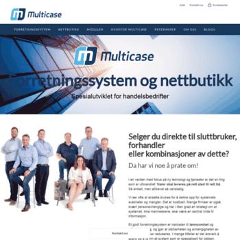 Multicase.no thumbnail