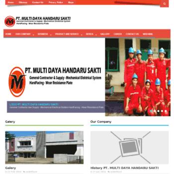 Multidayahandarusakti.co.id thumbnail