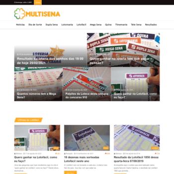 Multisena.com.br thumbnail