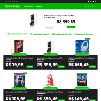 Mundoeletronicome.com.br thumbnail