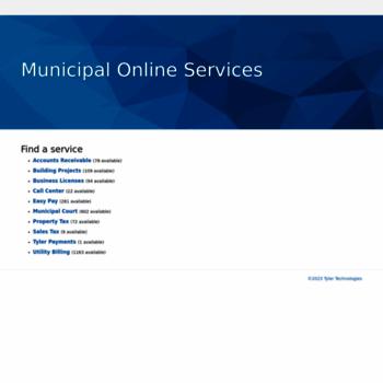 Municipalonlinepayments.com thumbnail