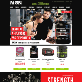 Gauge Nutrition Whey Protein Sports