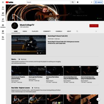Musiccollege.tv thumbnail