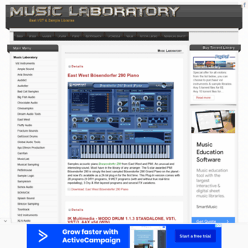Musiclaboratory.org thumbnail